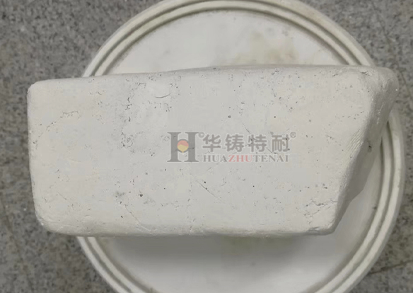 High strength plastic repair material for investment casting